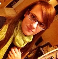 jessi in green scarf